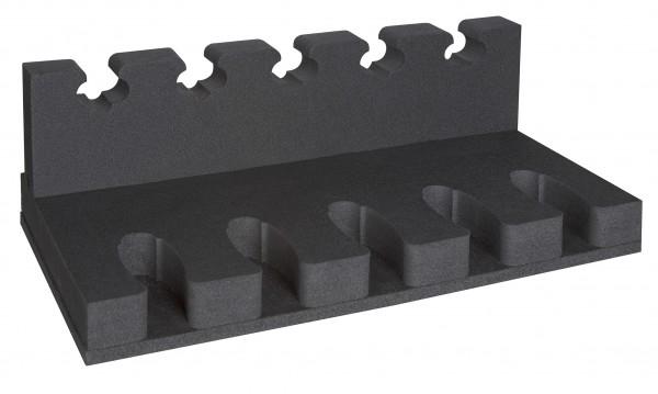 Kurzwaffenhalter 3x 5er + 1x Fachboden für KWT 4100, 5100, 10100
