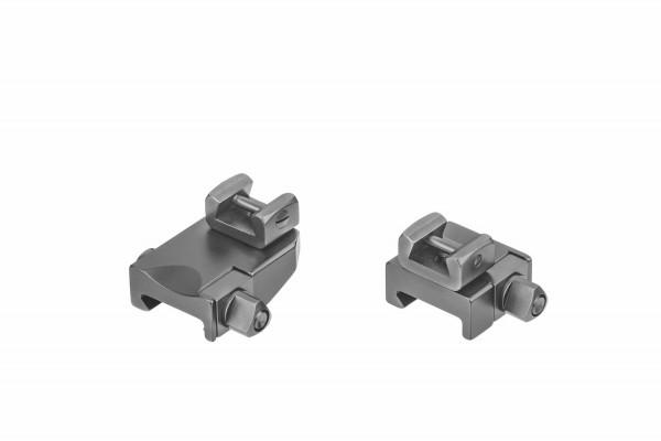 Recknagel Aufkippmontage, 70°-Aufnahmeprismen für Picatinny-/Weaver - 15mm verlängerte Ausführung