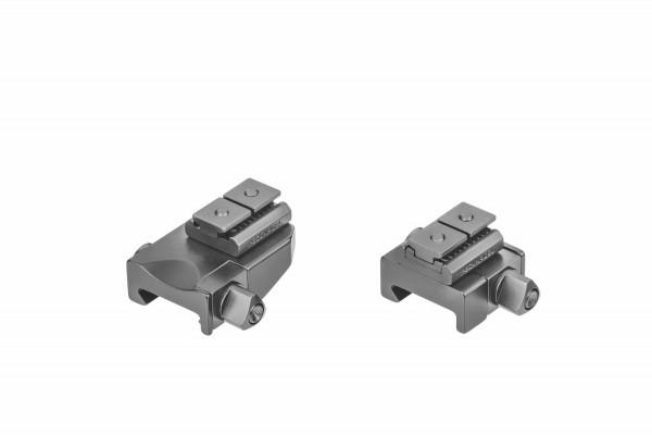 Recknagel Aufkippmontage, Swarovski SR für Picatinny-/Weaver - 15mm verlängert