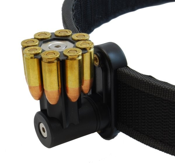 DAA Magnetischer 8-Schuss 9mm Para/Luger Moon-Clip Halter