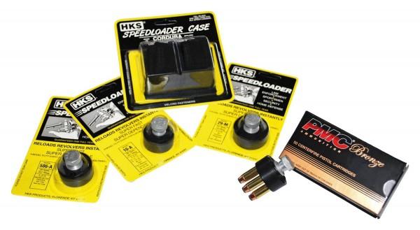 HKS Doppel-Speedloader-Tasche