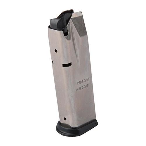 Mec-Gar Magazin Sig Sauer P228 Nickel, 9mm Luger, 15 Schuss