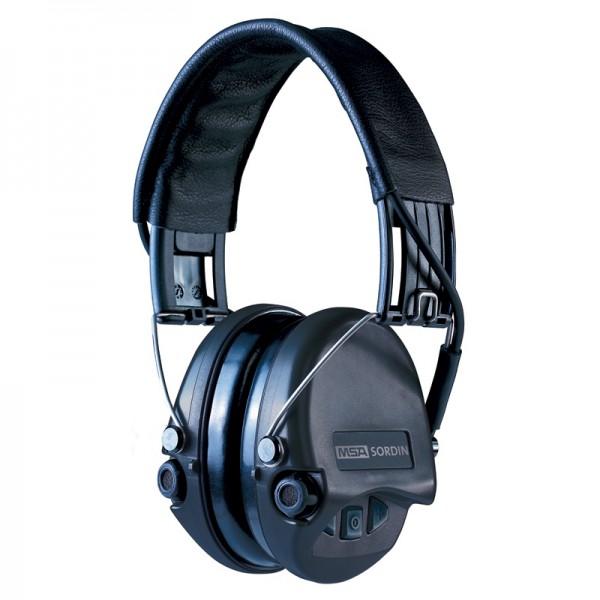 MSA Sordin Supreme Pro Gehörschutz mit AUX-Eingang, Schaumkissen