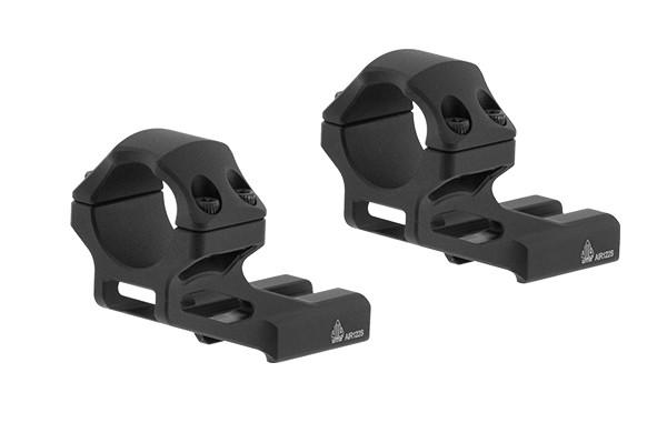 "UTG 1"" ACCU-SYNC 37mm Versatz-Blockmontage Picatinny, Hoch, 1x Paar"