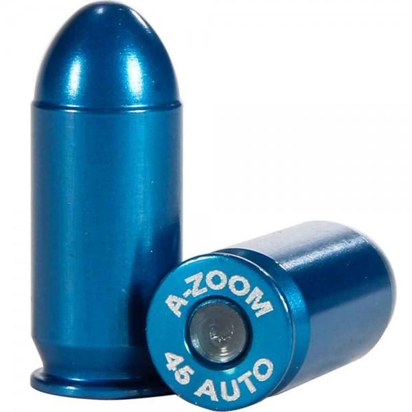 A-Zoom Pufferpatronen für Pistolen - Blau