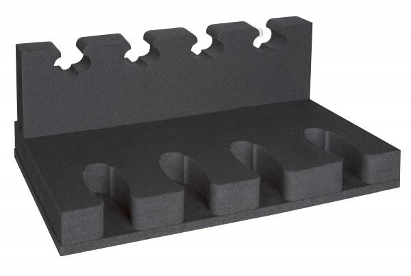 Kurzwaffenhalter 4x 4er + 1x Fachboden für KWT 10100