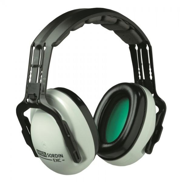 MSA Kapselgehörschutz EXC, schwarz/weiß