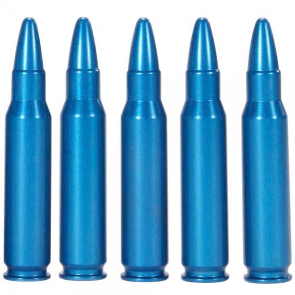 A-Zoom Pufferpatronen für Centerfire Gewehr - Blau
