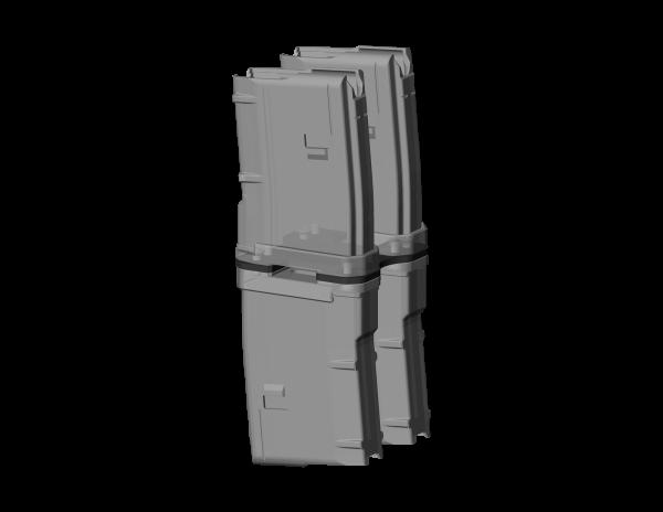 gunmania Parallelverbinder (Add-On) - für gunmania Magazinkoppler